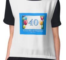 40 - You're Kidding! Chiffon Top