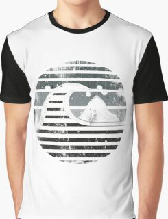 Quiksilver - RETRO logo grunge grey Graphic T-Shirt