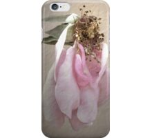 Today, I'm Not So Pretty - Image and Poem iPhone Case/Skin