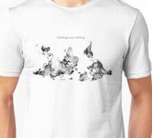Challenge Your Thinking World Map Unisex T-Shirt