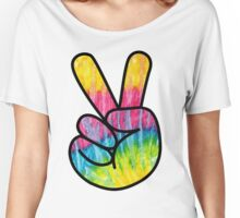 Hippie Peace Women's Relaxed Fit T-Shirt
