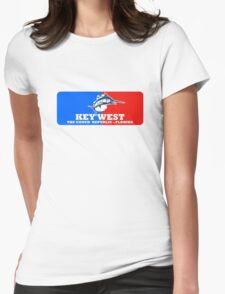 Key West Sport Fishing Womens Fitted T-Shirt