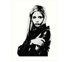 Buffy the Vampire Slayer - Buffy Summers Art Print