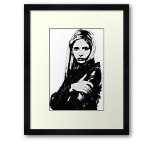 Buffy the Vampire Slayer - Buffy Summers Framed Print