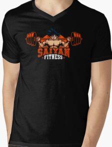 Saiyan Fitness Mens V-Neck T-Shirt