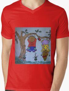 kids Mens V-Neck T-Shirt