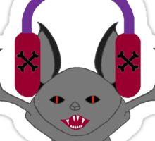 Creepy Goth Bat Sticker