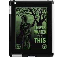 Keyleth's Confession iPad Case/Skin