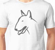 Bull Terrier HEAD Bullterrier Unisex T-Shirt