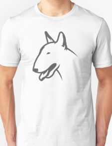 Bull Terrier HEAD Bullterrier T-Shirt