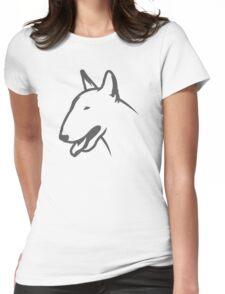 Bull Terrier HEAD Bullterrier Womens Fitted T-Shirt