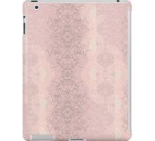 Lace Semi-Circles // Soft Pink iPad Case/Skin