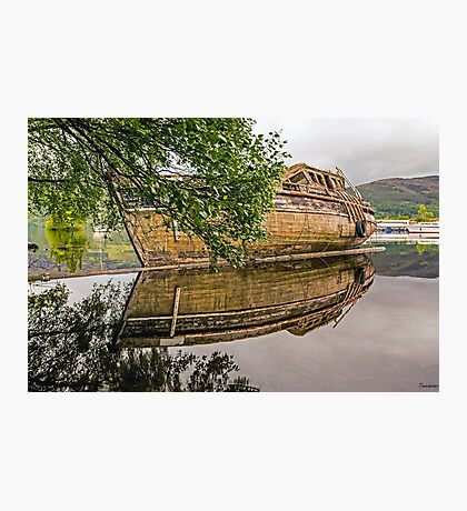 On Loch Ness Photographic Print