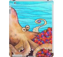 The Fruitarian Octopus. iPad Case/Skin