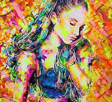 ARIANA GRANDE by artxr