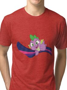 Spike, stay hookes ! Tri-blend T-Shirt