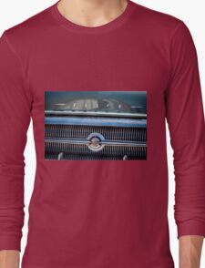 1957 Buick Grill Detail Long Sleeve T-Shirt