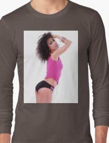 Sexy Curly Girl Long Sleeve T-Shirt