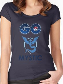 Pokemon Go - Go Mystic! Women's Fitted Scoop T-Shirt