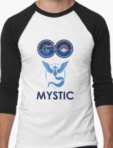 Pokemon Go - Go Mystic! Men's Baseball ¾ T-Shirt