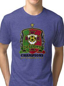 Portugal Champions Europe Tri-blend T-Shirt