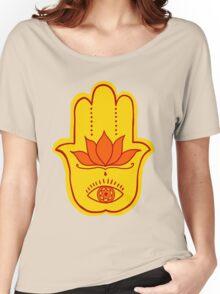 Hamsa (Fire) Women's Relaxed Fit T-Shirt