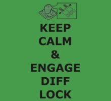 Land Rover Keep Calm Engage Diff Lock by tastyklean
