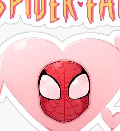 Spider-Fan Sticker