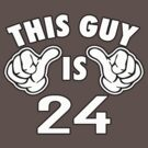 THIS GUY IS 24 by mcdba
