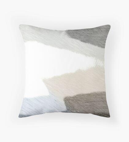 Earth Sand and Sea Throw Pillow