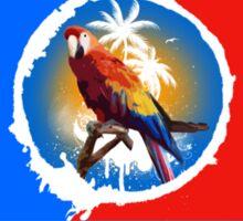 Key West Summer Sunset Paradise Sticker