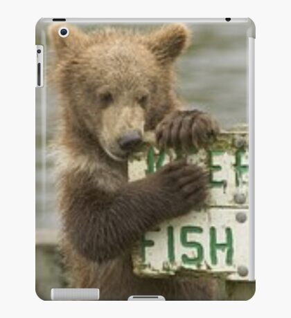 fish pass iPad Case/Skin