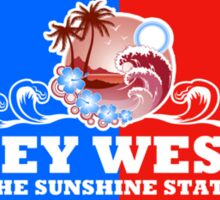 Key West Sunshine State Sticker