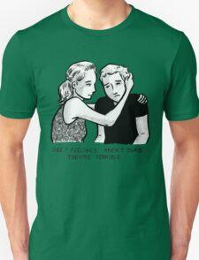 Feelings Aren't Dumb Unisex T-Shirt