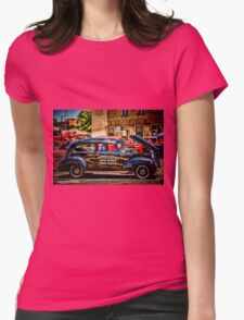 Bonnie and Clyde Womens Fitted T-Shirt