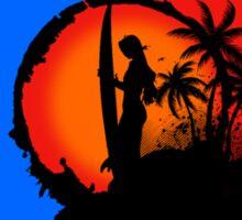Sunset In Key West Sticker