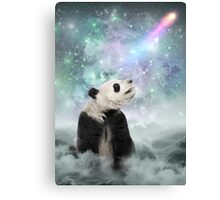 My Thoughts are Stars • (Panda Dreams / Color 2) Canvas Print