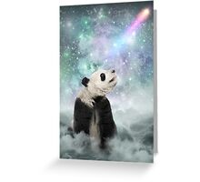 My Thoughts are Stars • (Panda Dreams / Color 2) Greeting Card