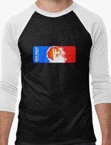 The Sunset State Men's Baseball ¾ T-Shirt
