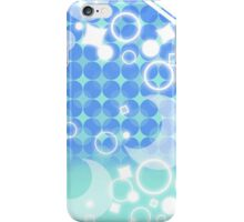 Cool Blue Moon Pattern iPhone Case/Skin