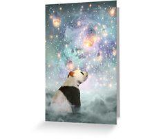 Let Your Dreams Take Flight • (Panda Dreams 2 / Color 2) Greeting Card