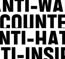 RIHANNA - ANTI (AWT) Sticker