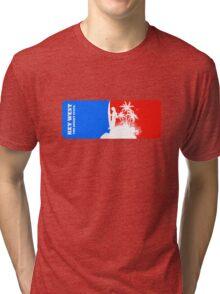 The Sunset Paradise - Key West Tri-blend T-Shirt