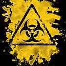 Biohazard – bleached grungy look by Bela-Manson