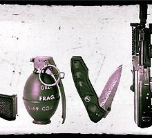 LOVE GUNS  by HeSSii