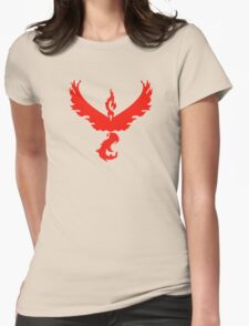 Team Valor - Pokemon Go Womens Fitted T-Shirt
