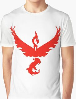 Team Valor - Pokemon Go Graphic T-Shirt
