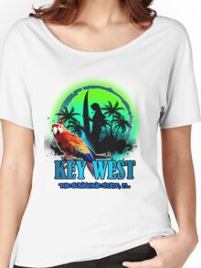 The Sunset Paradise - Key west Women's Relaxed Fit T-Shirt