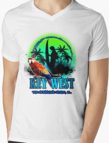 The Sunset Paradise - Key west Mens V-Neck T-Shirt