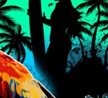 The Sunset Paradise - Key west Sticker